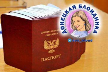 Получение паспорта ДНР в 14 лет