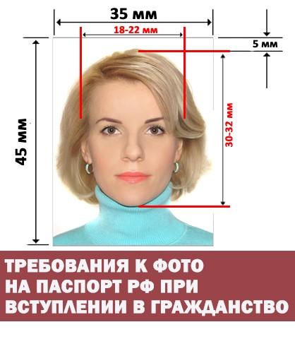 Требования к фото на паспорт РФ ДНР
